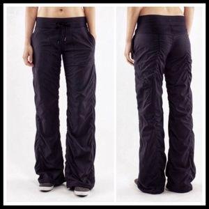 Lululemon Black Dance Studio pants Lined yoga